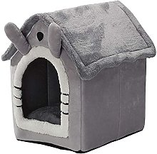 zzook Pet Bed Foldable Cat House Pet Cats Bed