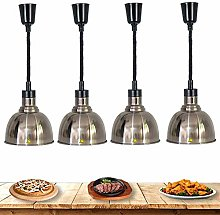ZZTX Commercial Food Heat Lamp Warmer to Keep The