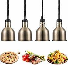 ZZTX Commercial Heat Lamp Food Warmer, Buffet