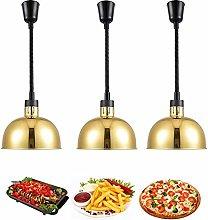 ZZTX Food Heat Lamp Warmer, Commercial Food