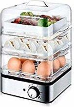 ZZXXB Breakfast machine 3 ply egg cooker egg