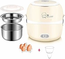 ZZXXB Multi-Function Rice Cooker, 2-Layer Portable