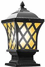 ZZYJYALG Square IP65 Waterproof Wall Pillars Lamp