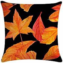 zzzddd Cushion Covers,Autumn Maple Leaf Sofa