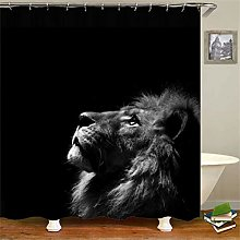 ZZZdz Longing For A Bright Lion. Shower Curtain: