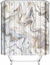 ZZZdz Marbling. Shower Curtain: 180 X 180 Cm.
