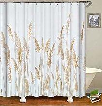 ZZZdz Reeds. Shower Curtain: 180 X 180 Cm.Shower