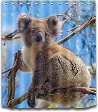 ZZZdz Wild Animals. Koala. Curtain. Shower